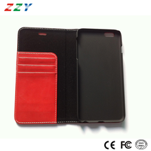 Alibaba express unique products book style wallet leather flip case for Iphone 6