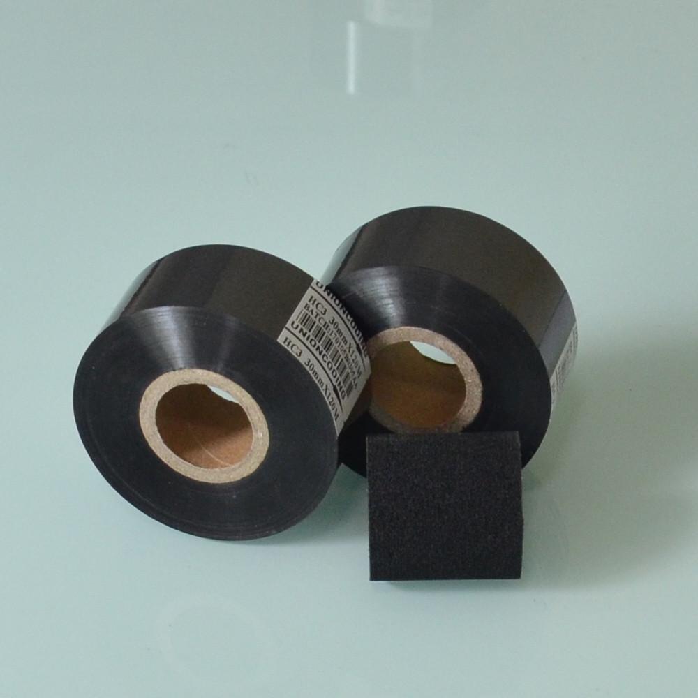 HC3 Typ Schwarz Farbe 30mm Breite 120m Länge heißes date die folie
