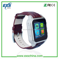 new products on china market 3g smart android watch phone, android 4.4 smart watch
