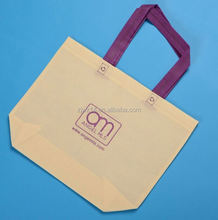 cheap fashion non woven bag with lamination for shopping/ 6 bottle wine bag with dividers/ cheap non woven bags wholesale usa