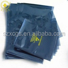 Custom Printed Static Shielding Bag / Transparent Metallic Shielding - 3 Mil