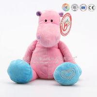 Customized hippo plush toy,hippo,cartoon character hippo factory in China