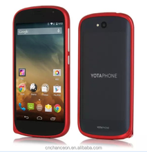 Aluminum Material bump mobile phone case For YotaPhone 2 CO-MTL-6025
