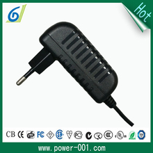 Hot selling product superior quality EU plug adapter 25W max power battery charger
