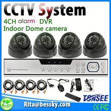 Black color Sony Cmos camera car moving detection high quality DVR Kits