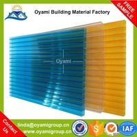 UV reflective transparent polycarbonate soils sheet for construction
