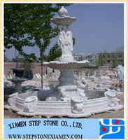 Granite Marble Fountain, garden ornament, fountain carving