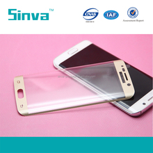 Top Quality Full Cover Glass Screen Protector Guard for Samsung S6 Edge Plus with High Transparency
