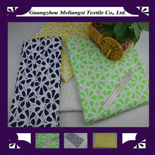 Fashionable charming african lace fabric 2015 for apparel