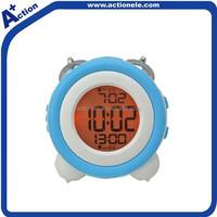 Digital twin bell alarm clock