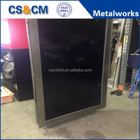 lcd outdoor network advertising player outdoor led display screen