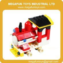 91pcs City Series Train Engine Brick Building Blocks Toy
