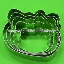 Stainless Steel 5PCS Different Size Hello Kitty Cookie Cutter