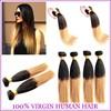 2015 Wholesale Peruvian Hair Weave Grade 7A 100% Human Virgin Peruvian Ombre Hair