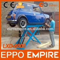 LXD6000 China Alibaba CE approved scissor lift/auto car lift/car parking pole