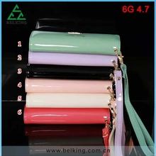 2015 Trendy Mobile Phone Bag Case For iPhone 6 Wallet Accessory PU Leather Case