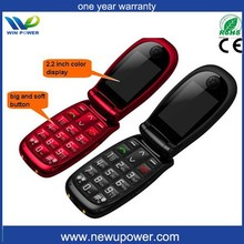 new product China supplier senior flip made in finland phone