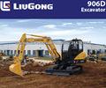 CLG906DIII LIUGONG micro excavadora con motor Yanmar de miniexcavadora fabrica para el mini retroexcavadora