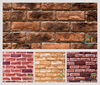 Wall decoration red brick stone