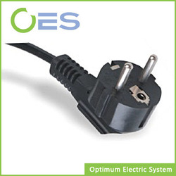 15 Years Manufacture Experience of 2Pin AC Power Cord Plug for European Market
