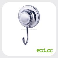 ECOLOC powerful suction cup single hook, metal hook