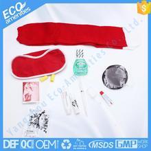 Motel 5 Stars airline uniform shoulder mark is airline amenity kit