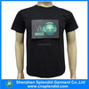 great design and normal material sound control LED t-shirts