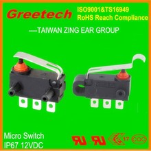 40t85 mini waterproof micro switch, 12vdc auto micro switch for electric key switch lock