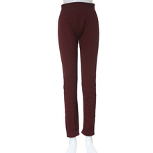 Made in yiwu jeanch brand factory direct fashion fleece lined seamless leggings keep warm in winter