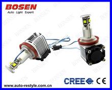 car accessory Angel Eye H8 LED 40W CREE E87 E92,E93,E70,E71, E60 E61 E63 E64 high power sixy body
