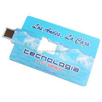 Wholesale Freesample Highspeed postcard usb flash drive for Promotional gifts