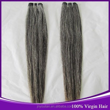 Brazilian Virgin Hair Wholesale Price 8-30inch Direct Factory Price Brazilian Virgin Human Hair Extension Gray Hair Weaves