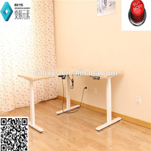 glass computer desk adjustable height folding laptop table with UL certification and BIFMA certification