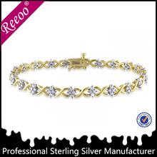 Nuevo diseño de pulsera de oro saudi diseño de joyas para niñas