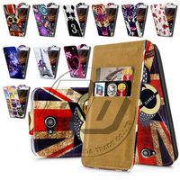 For Sony Xperia C S39H High Quality Print Flip PU Leather Case Cover Moible Phone Case