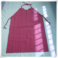 waterproof plastic women's pvc apron