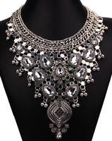 Necklace korean jewelry mexico manufacturer necklace statement jewelry N4823