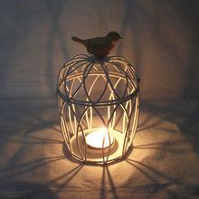 wedding/made in china/bird cage hurricane candle holder/candle hodler lantern