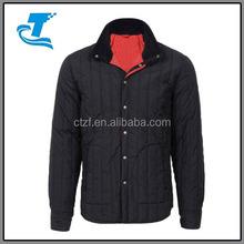 2015 Men Vertical Quilted, Snap Front Jacket