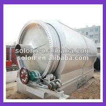 Automatic Environmental-friendly waste tyre pyrolysis to oil machine with high efficiency