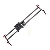 "80cm 32"" DSLR Camera Carbon Fiber rail Slider Dolly Track Video Stabilizer Rail with bearing + Case"