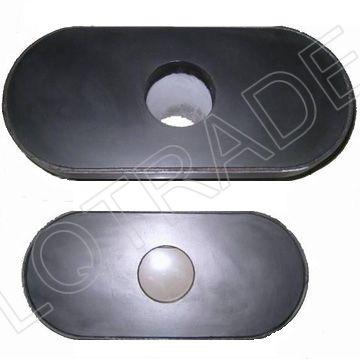 Ladle Furnace Steel Flow Control Gate Valve LQ 6300 Slide Gate Plate Refractory