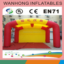 Cheap inflatable cube tent, inflatable event tent, inflatable advertising tent