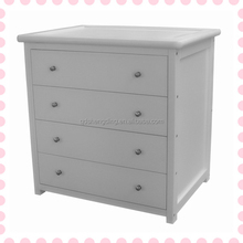American Styled Luxury Solid Wooden Baby Changing Table New Born Baby Room Wooden Chest