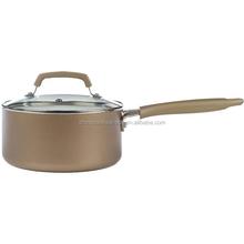 Unique design aluminum milk pot