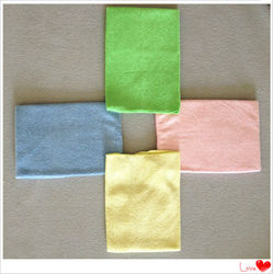 shining&elastic microfiber cleaning cloth