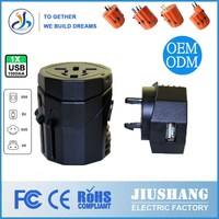 Promotion Travel Adaptor Universal Travel Adaptor CE/FCC/SGS/ROHS