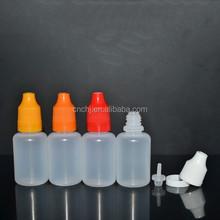 20ml pe bottle / pe bottle tamper childproof cap/eliquid bottle 20ml