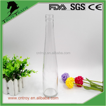 Long Shape Glass alcoholic Beverage Bottle with Screw Top