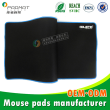 Protector Large Mouse Mat(Black) for desk tops and laptop,factory direct selling
